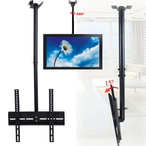 led tv deckenhalterung f r 26 32 zoll fernseher halterung 360 drehbar neigbar ebay. Black Bedroom Furniture Sets. Home Design Ideas