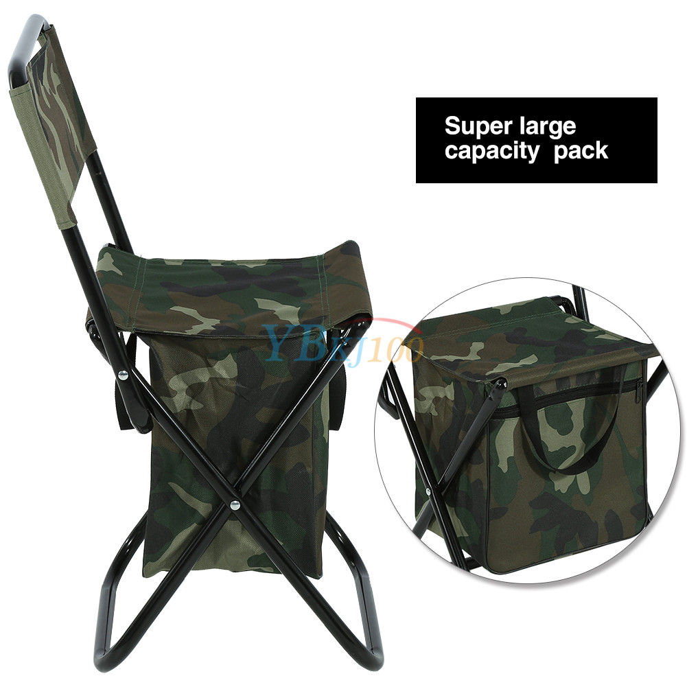 2 in 1 Folding Fishing Stool Backpack Seat Chair Hunting Tear-Resistance Bag SA  sc 1 st  eBay & 2 in 1 Folding Fishing Stool Backpack Seat Chair Hunting Tear ...