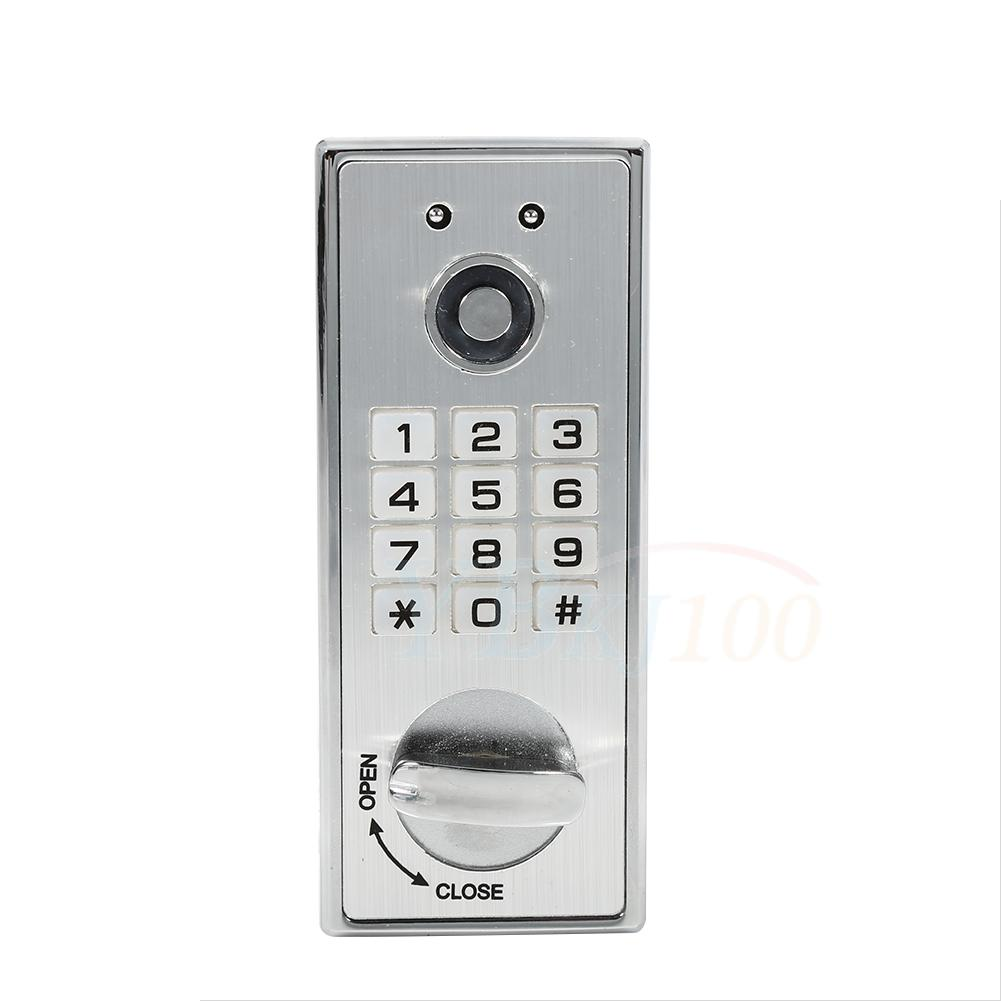 Keypad Password Key Access Coded Lock Digital Electronic