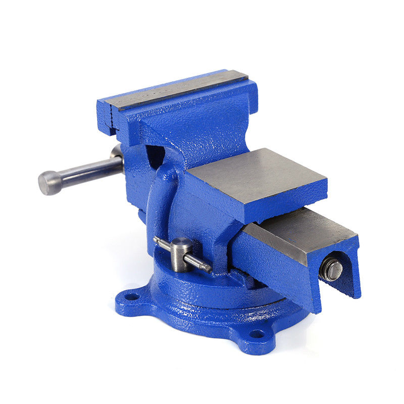 heavy duty bench vice vise 4 inch 100mm grip clamp swivel base work