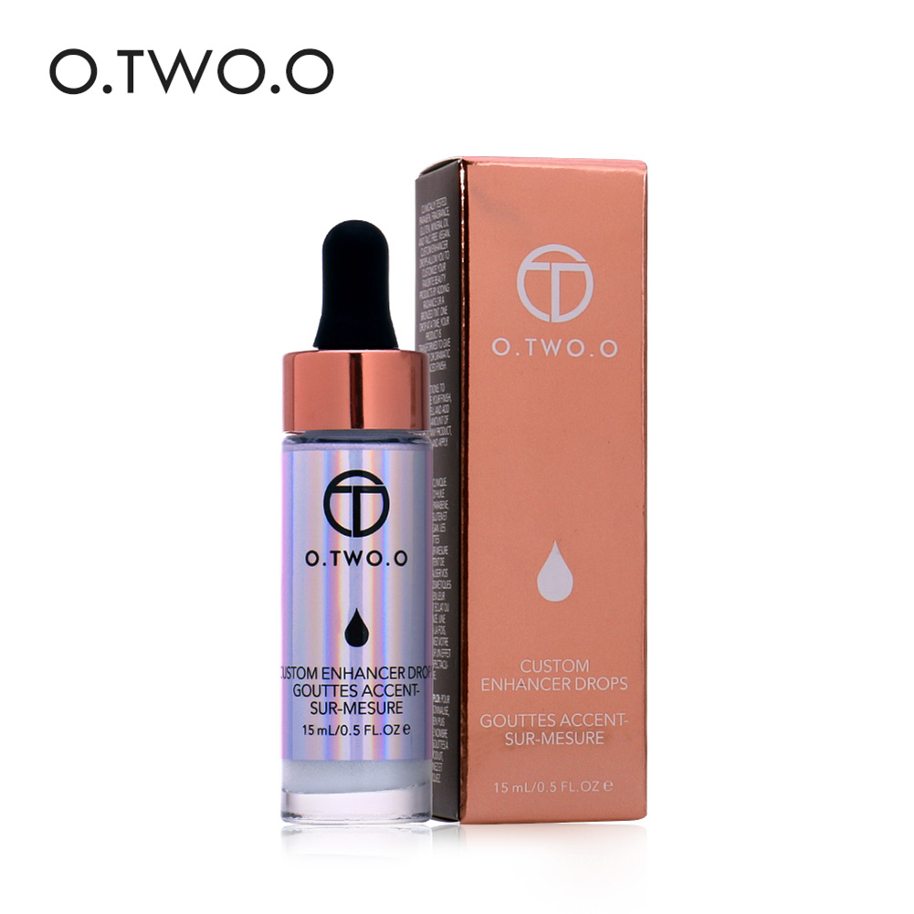 6 Types OTWOO Face Glow Illuminating Liquid Concealer Highlighter Makeup Cream