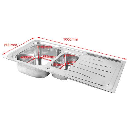 Edelstahl Küchenspüle Wasserhahn Einbauspüle Spülbecken Armatur ...