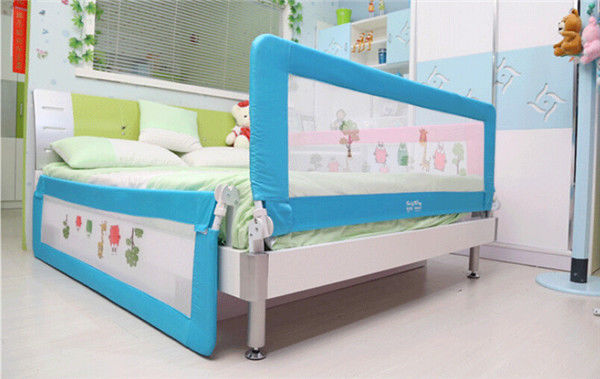 Guard Protection Safety Child Toddler Bed Rail Baby Bedrail Fold Cot 15M 18M