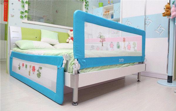150 180cm Folding Child Toddler Bed Rail Safety