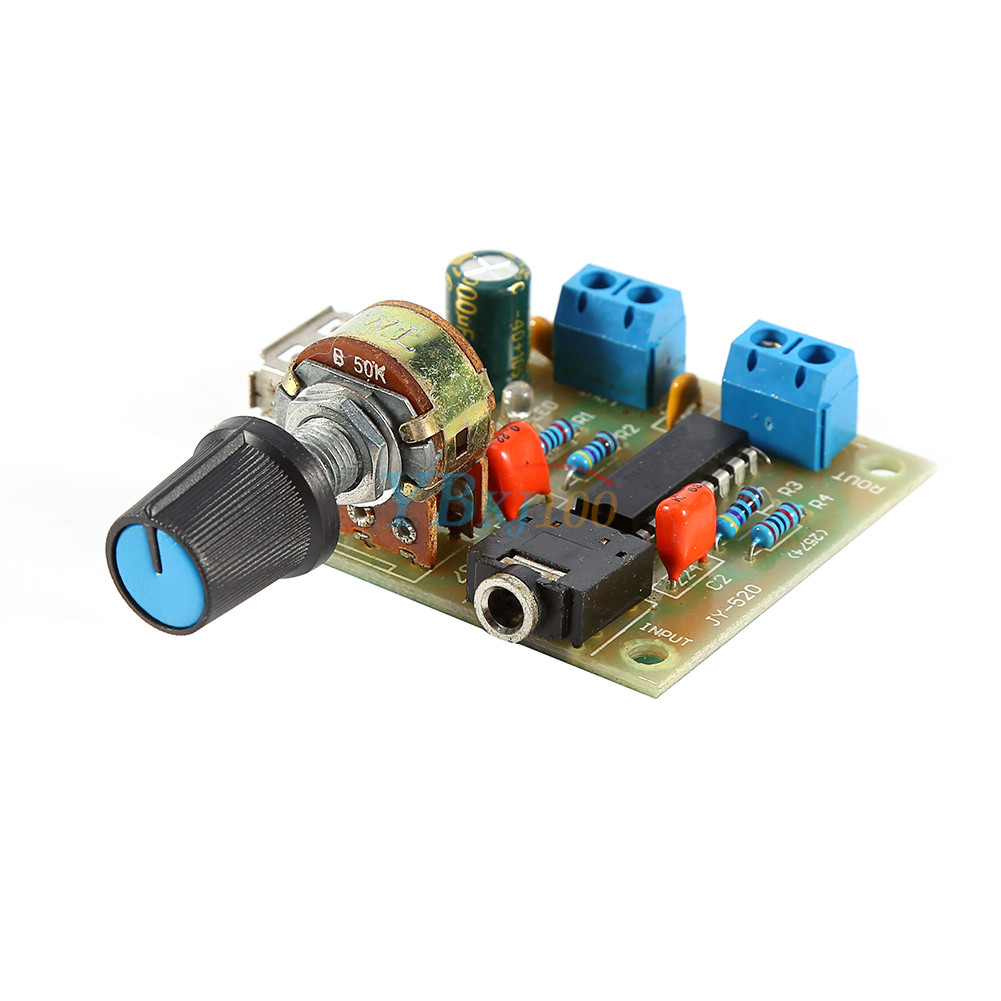 Pm2038 5w 4 Usb Amp Amplifier Board Audio Power Module Indicator For Led