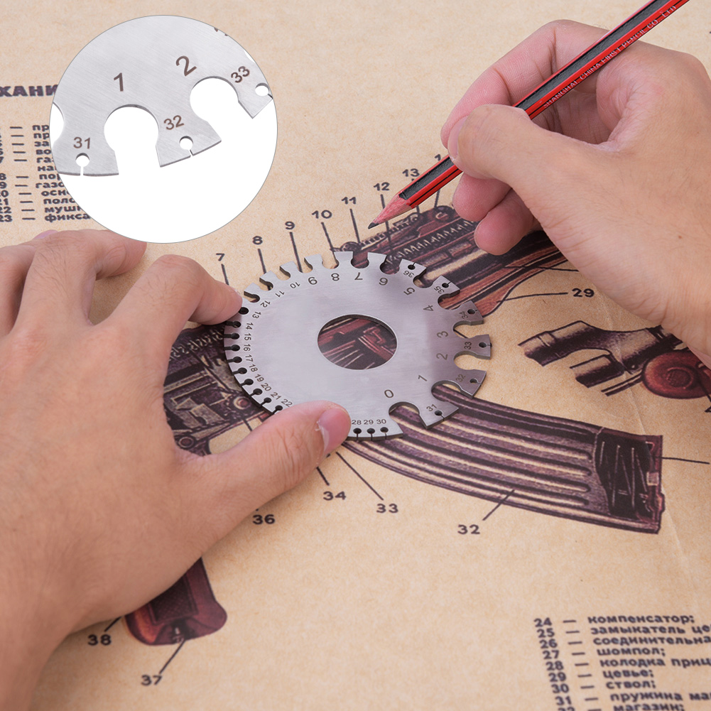 2 side awg swg round gage metal wire sheet thickness diameter gauge 2 side awg swg round gage metal wire sheet thickness diameter gauge measuring dh greentooth Image collections