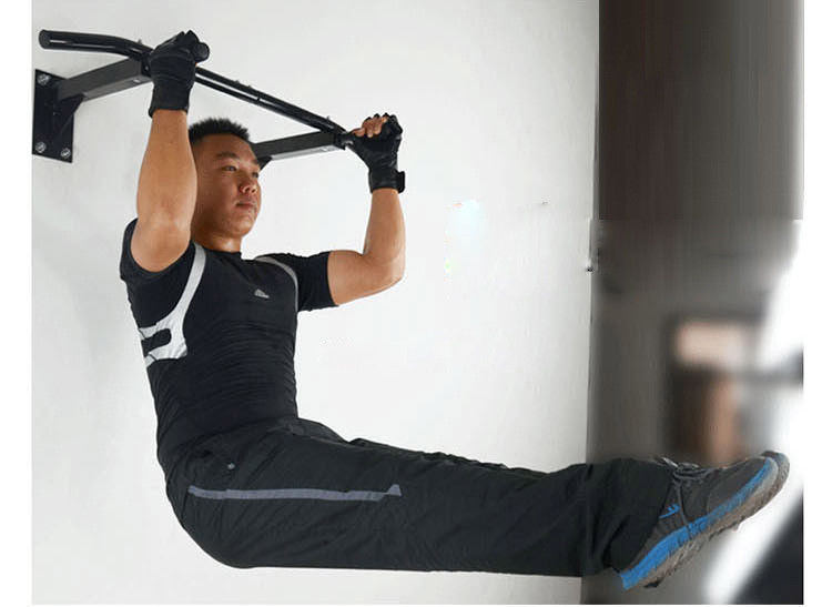 Wall Mounted Pull Up Bar Trainer Power Exercise Training