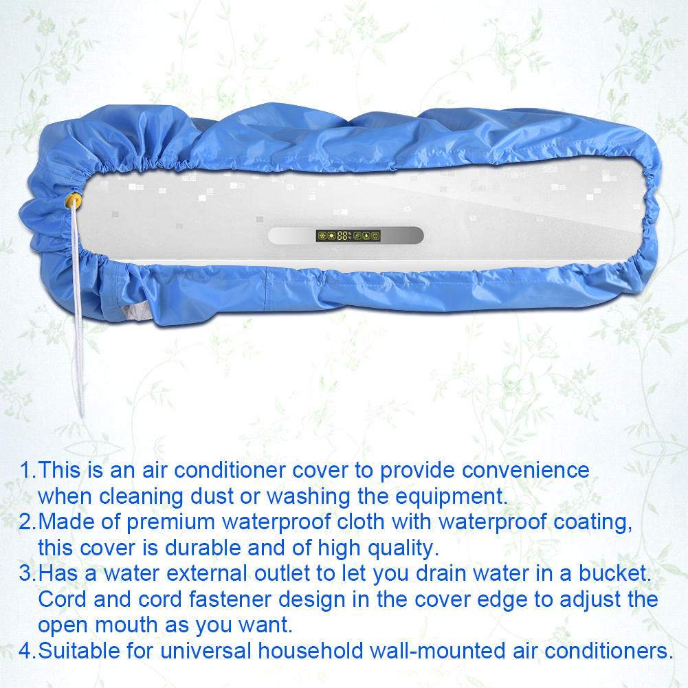 M L Outdoor Air Conditioner Cover Anti Dust Anti Snow