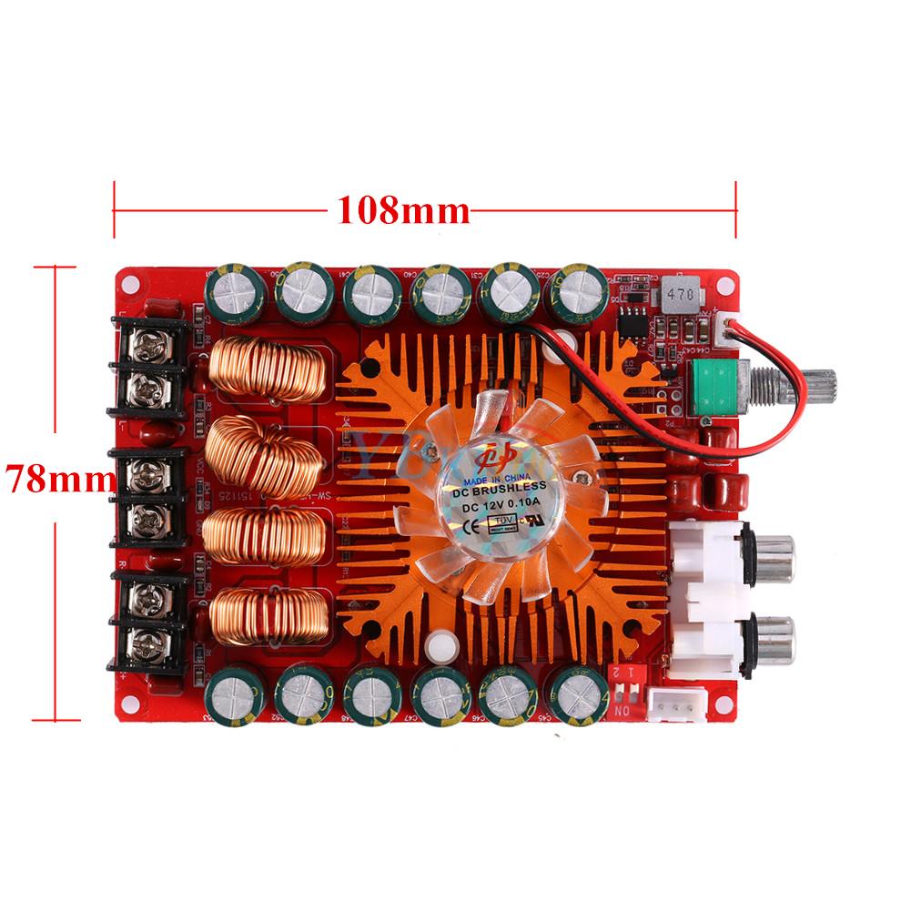 TDA7498E 2x160W Stereo Audio Digital Power Amplifier Board Support BTL 220W Mono