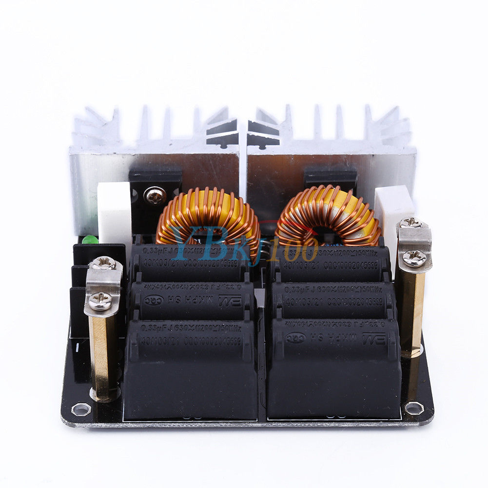 1000w Zvs Low Voltage Induction Heating Board Module Flyback Driver Diy Heater Circuit For Pinterest