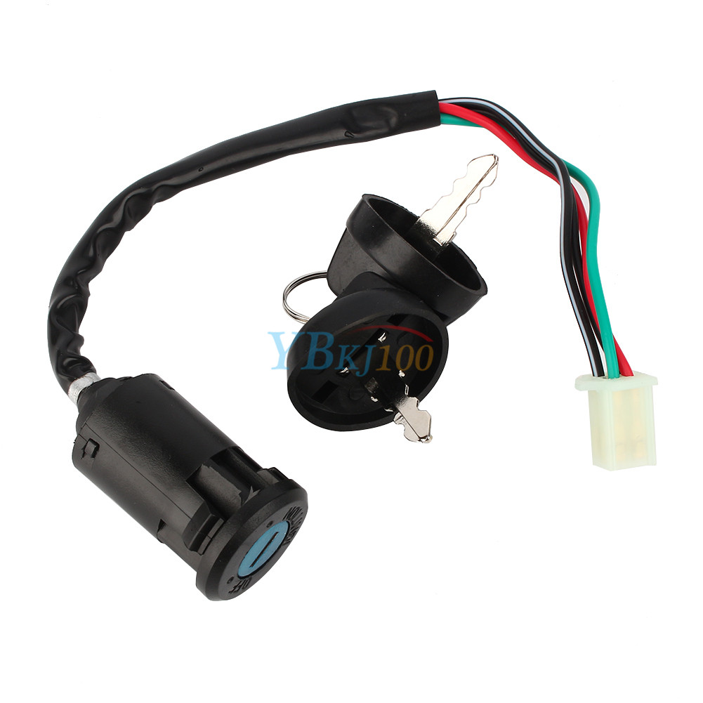 Chinese Atv Ignition Key Wiring Trusted Diagram Switch 4 Wire For 50 90 110 125cc Go Kart Rh Ebay Com 50cc Harness Buyang