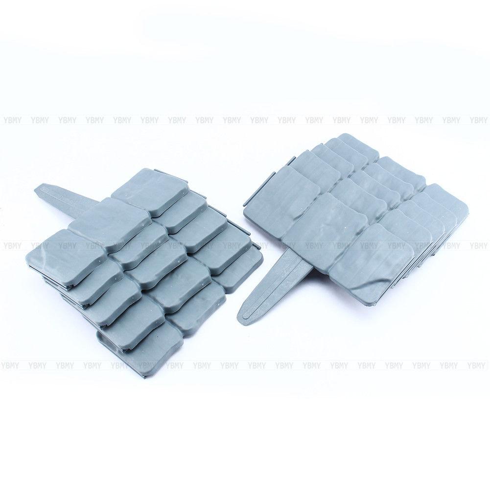 10 50 100 Pack Set Plastic Garden Patio Fence Panels