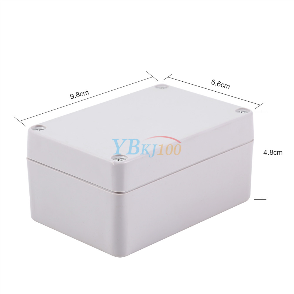 Weatherproof Outdoor Electrical Box: 100x68x50mm Electrical Box Waterproof Junction Box