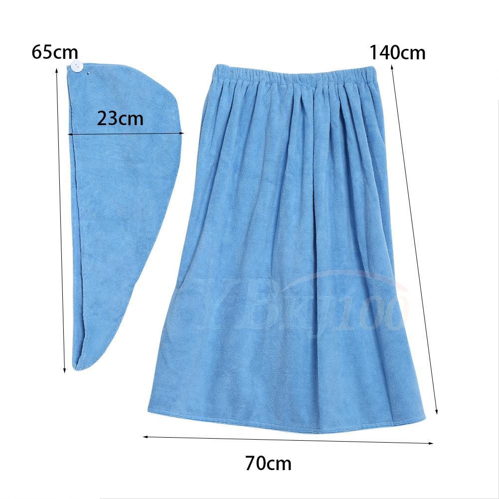 Useful Women Girls Shower Body Spa Bath Wrap Towel Bath Robe ...