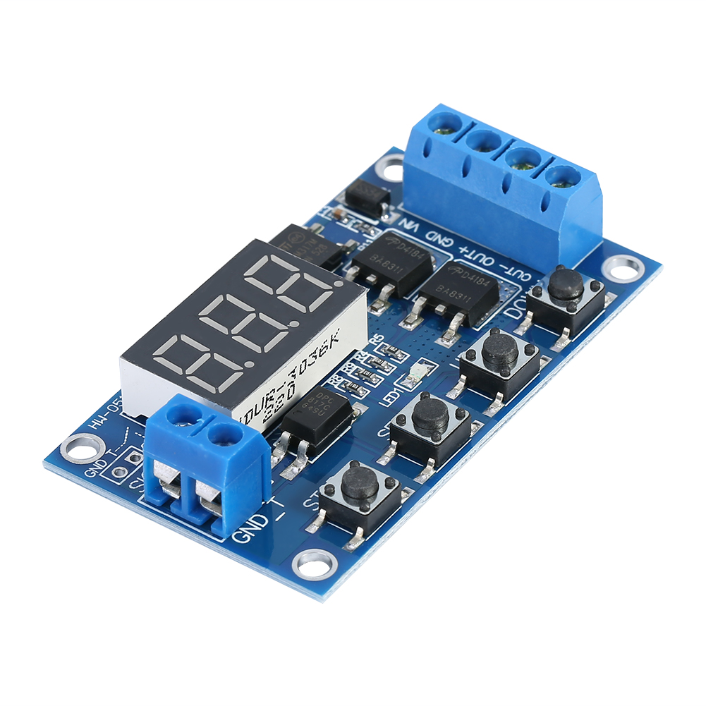 LED DC 5V~36V Dual MOS Control Cycle Trigger Timer Delay Relay Module Switch  ac