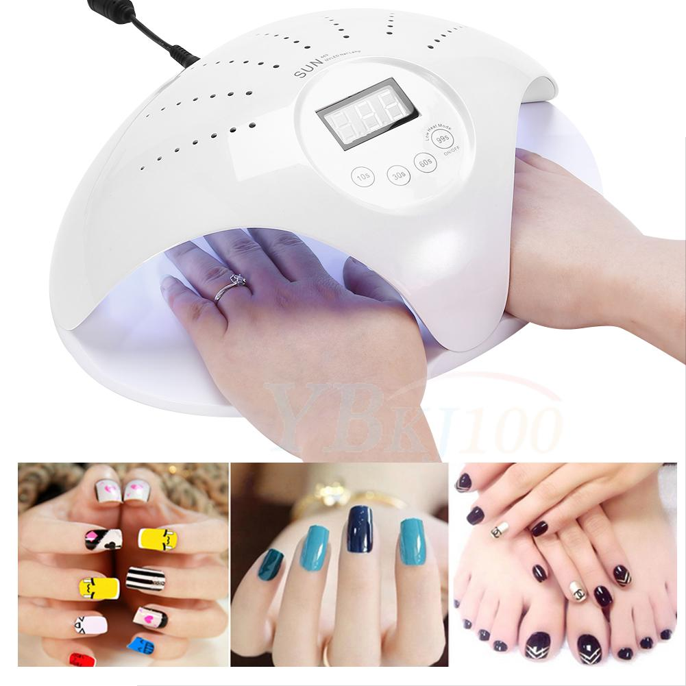 Nail Gel Machine for Portable Curing Lamp CCFL New 48W UV Nail ...