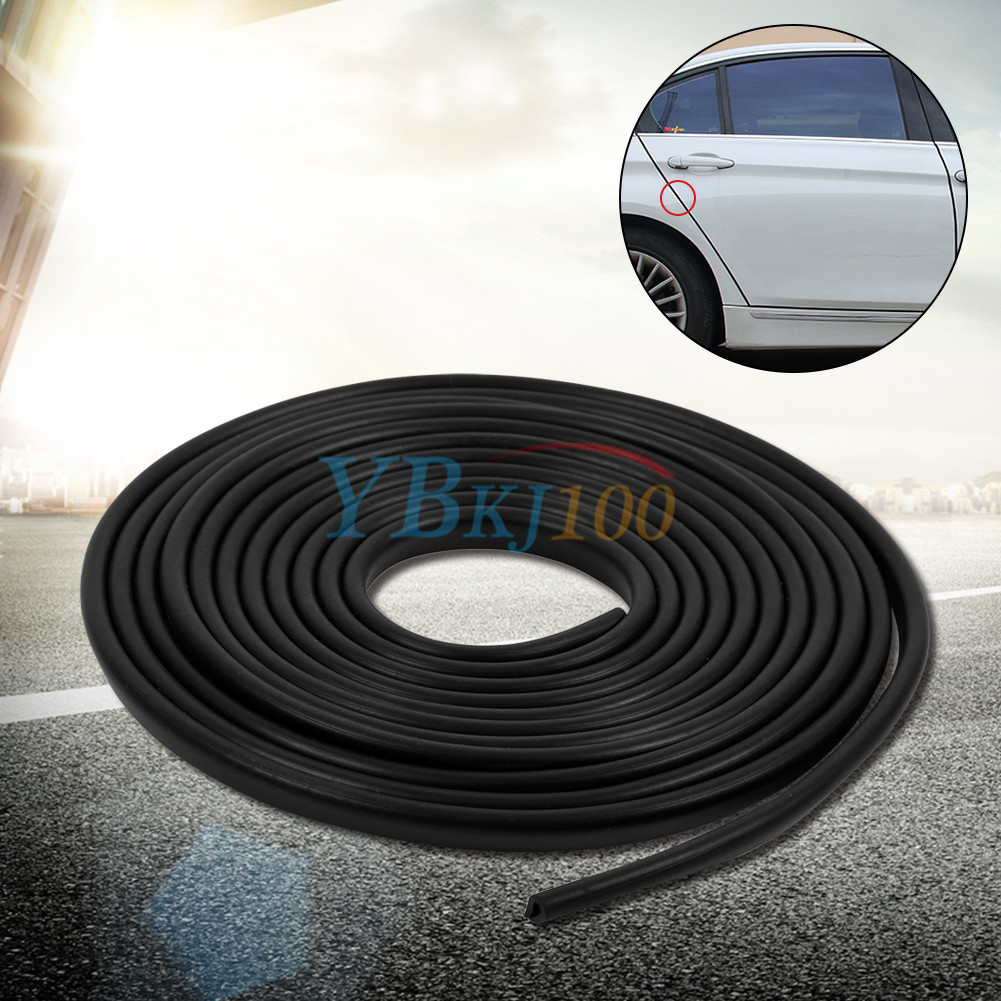 car door edge guard protector u profile black rubber moulding trim strip wd ebay. Black Bedroom Furniture Sets. Home Design Ideas