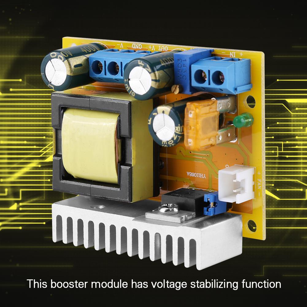 High Voltage Dc Boost Converter Zvs Regulator 8 32v 12v Linear For Transceiver Radio To 45v 390v