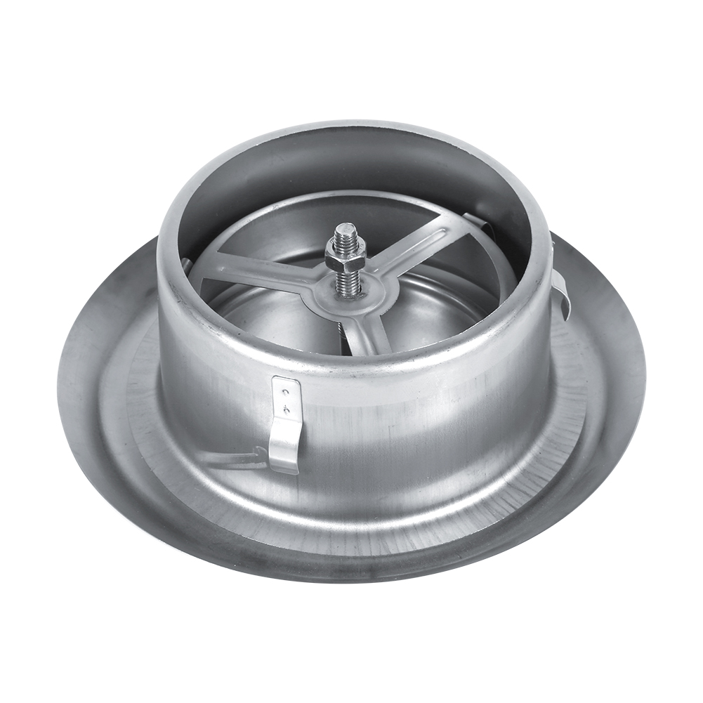 Adjustable wall ceiling stainless steel air vent round