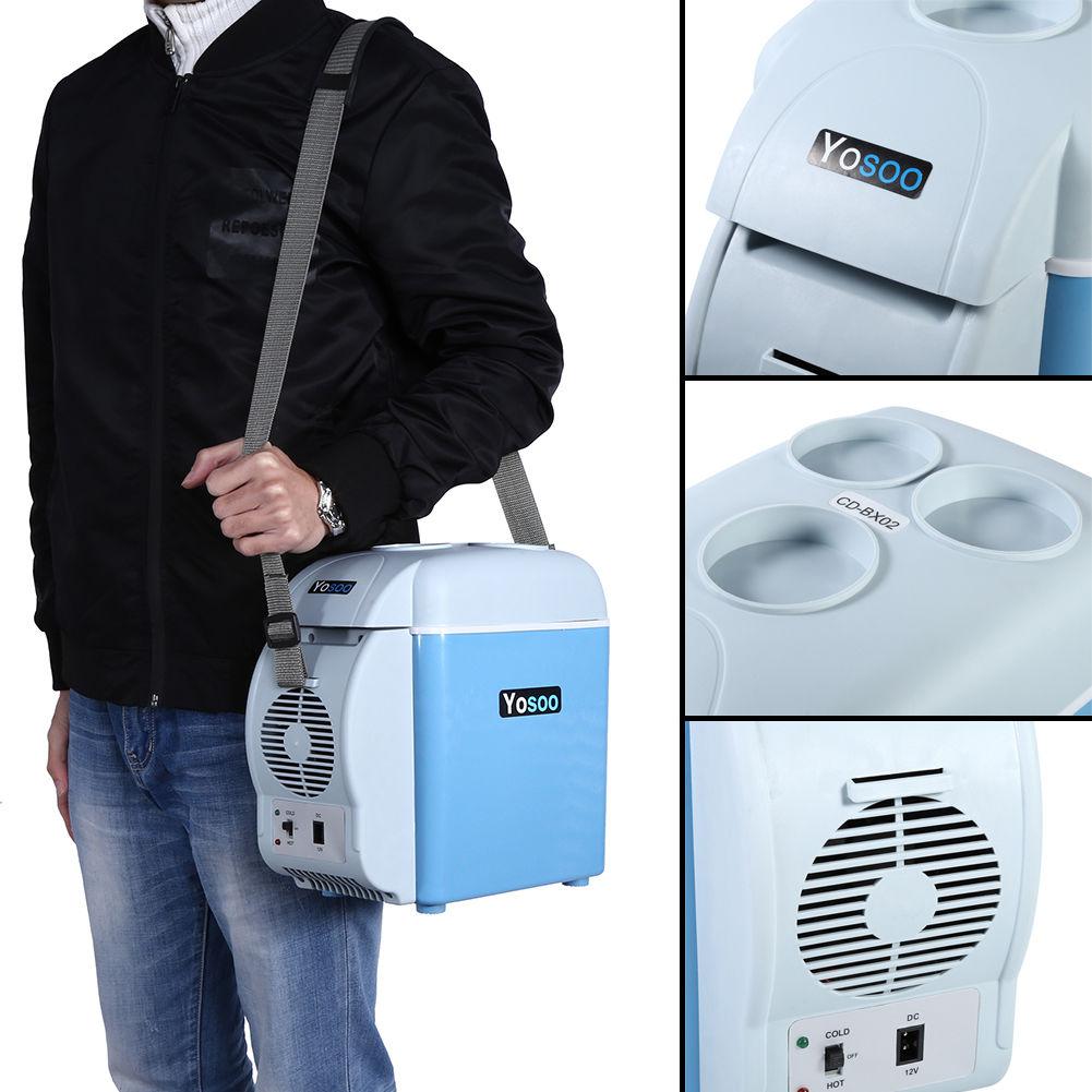 7,5L 12V Auto-Kühlschrank Mini Kühlbox KFZ Warmhaltebox Thermobox ...