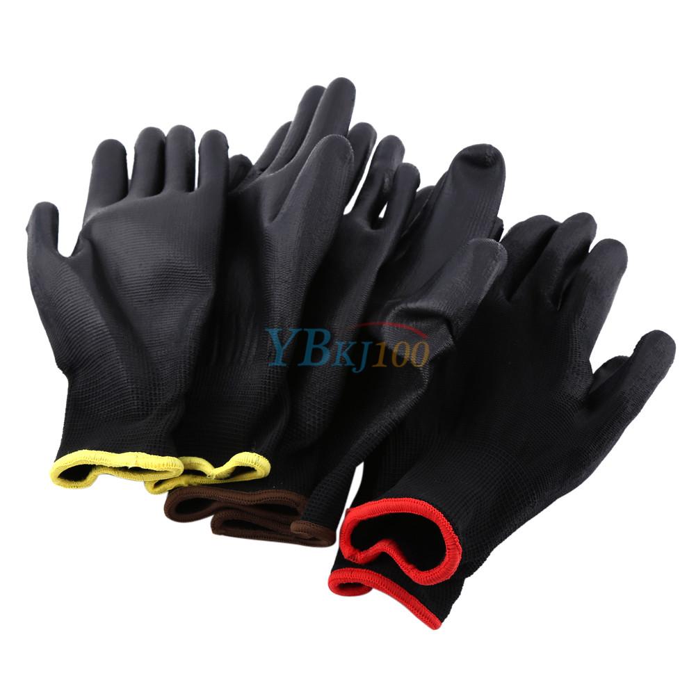 Supply Working gloves Flexible Builder Palm S M L Equipment Knit cuffs
