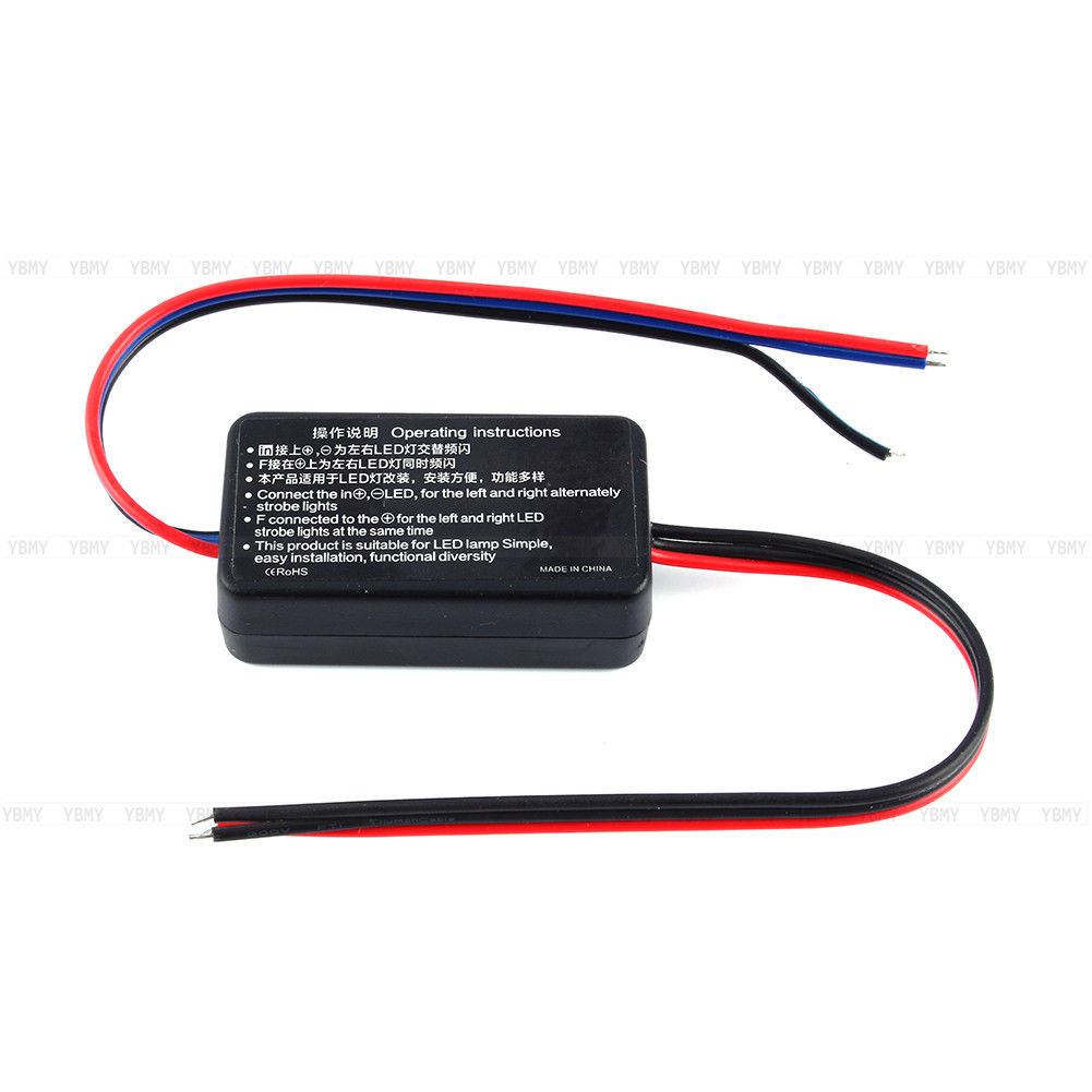 1307 Gs 100a Led Auto Brake Stop Light Flasher Module Flash Strobe Stroboscope Circuit New Car Lamp Controller