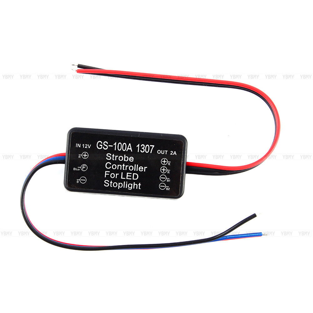 Auto Car Led Brake Stop Control Light Module Flash Strobe Controller Traffic Circuit Pictures 1 X For