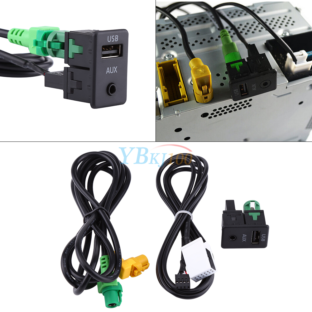 Usb Aux Switch Socket Cable Interface For Bmw E87lci E88