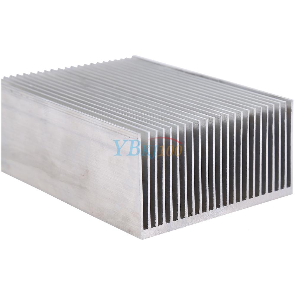 DIYElectronic 10 pcs Cooler Radiator Heatsink Cooling Fin Aluminum Heat Sink for IC Chip LED 131311mm 13X13X11mm