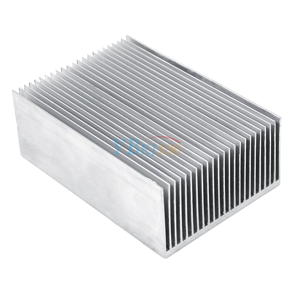 big aluminum heatsink heat sink radiator cooling fin for ic led power amplifier 828996283685 ebay. Black Bedroom Furniture Sets. Home Design Ideas
