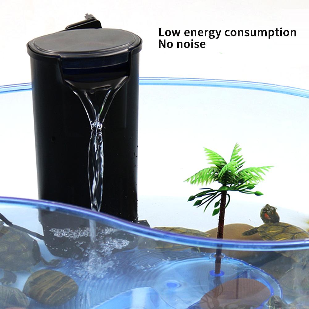 220v aquarium internal filter low water level filter silent mini