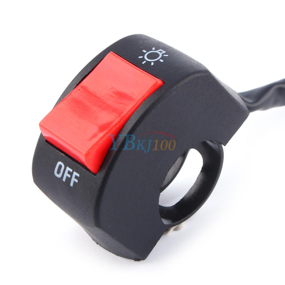 universal motorrad lenker scheinwerfer lichtschalter on. Black Bedroom Furniture Sets. Home Design Ideas