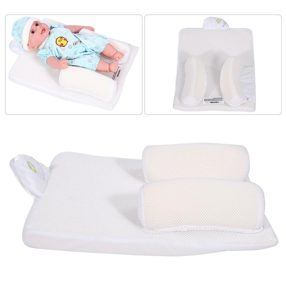 Sozzy Baby Infant Sleep Anti Roll Pillow Crib Wedge