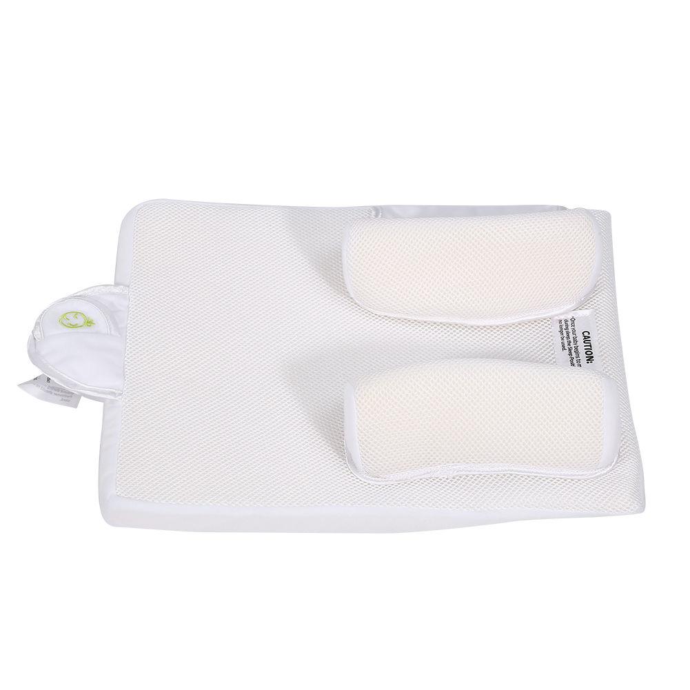 Sozzy Baby Infant Sleep Positioner Anti Roll Pillow Crib