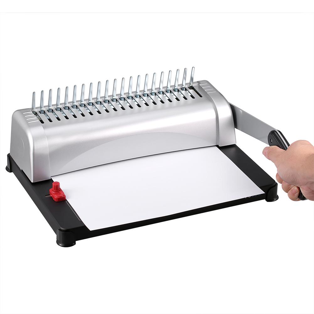 A4 Paper Puncher + Binder Punch 450 Sheets Binding Machine