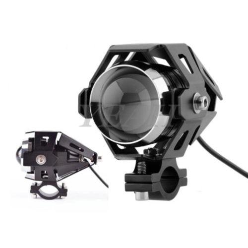 2 motorrad 125w u5 led lampe licht zusatzscheinwerfer. Black Bedroom Furniture Sets. Home Design Ideas