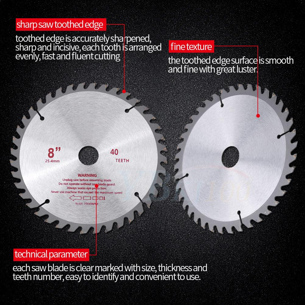 8inch 40t teeth carbide tip blade for brush cutter trimmer bore 8inch 40t teeth carbide tip blade for brush cutter trimmer bore diameter 254mm keyboard keysfo Choice Image