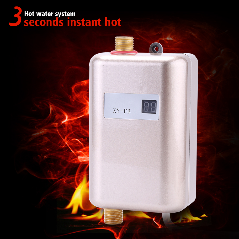 220v Mini Electric Tankless Instant Hot Water Heater