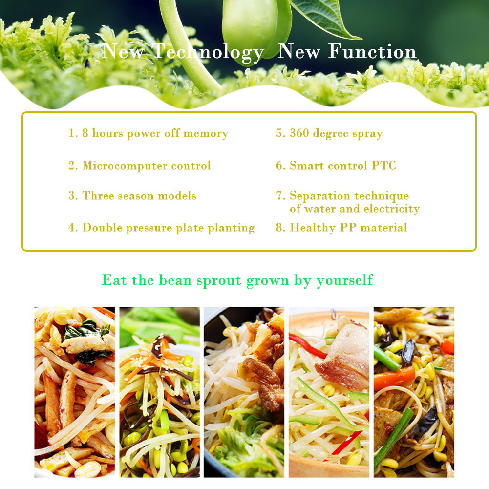 220v bean sprout machine automatic bean sprouts machine radish mung 220v bean sprout machine automatic bean sprouts machine radish mung seeding mini solutioingenieria Image collections