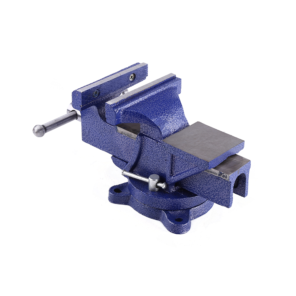 Fabulous 6 Inch Steel Heavy Duty Bench Vice Tool Grip Clamp Free Swivel Base 12Kg Blue 736691193867 Ebay Gmtry Best Dining Table And Chair Ideas Images Gmtryco