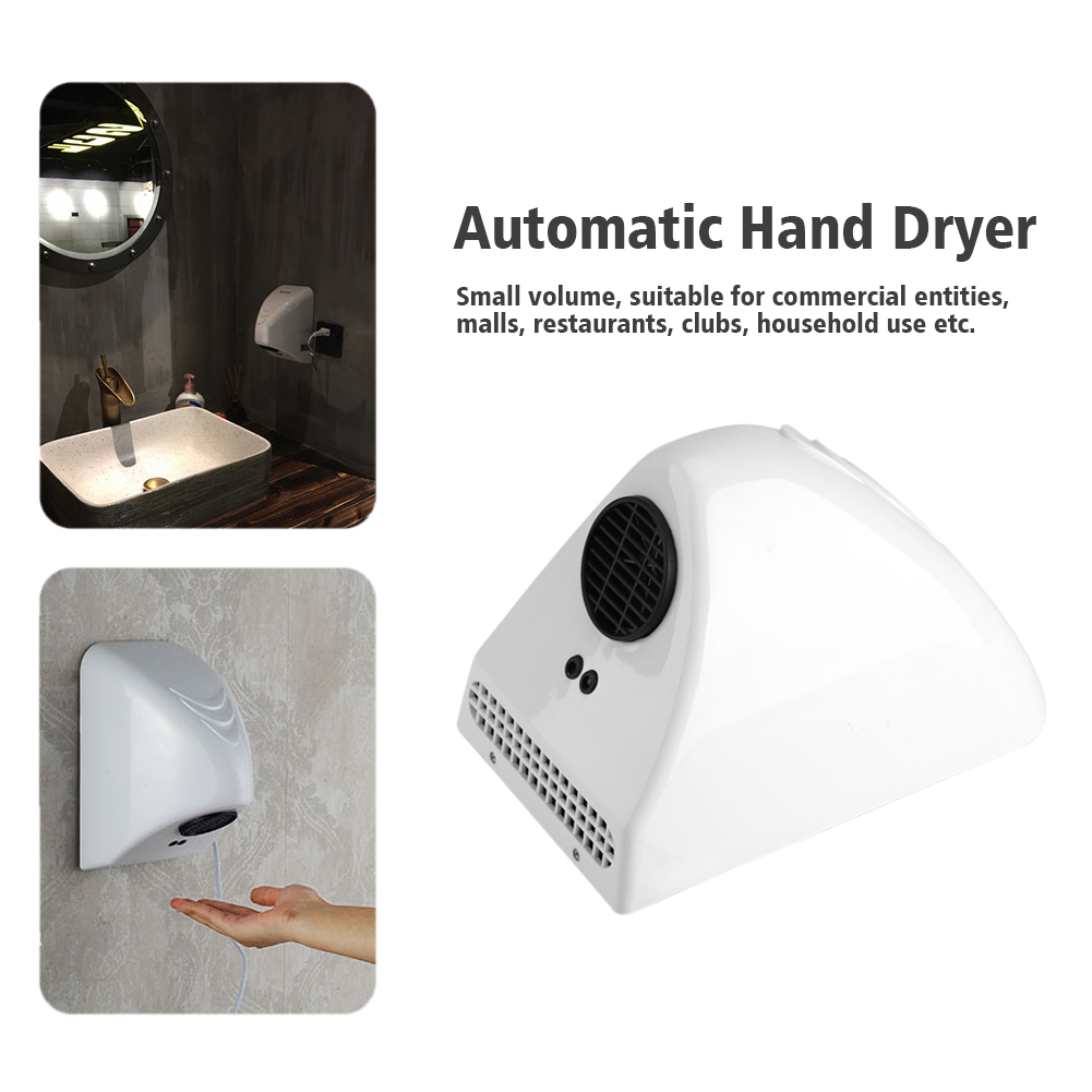 220v Wall Mounted Automatic Hand Dryer Commercial Grade Bathroom Powerful Wd Ebay