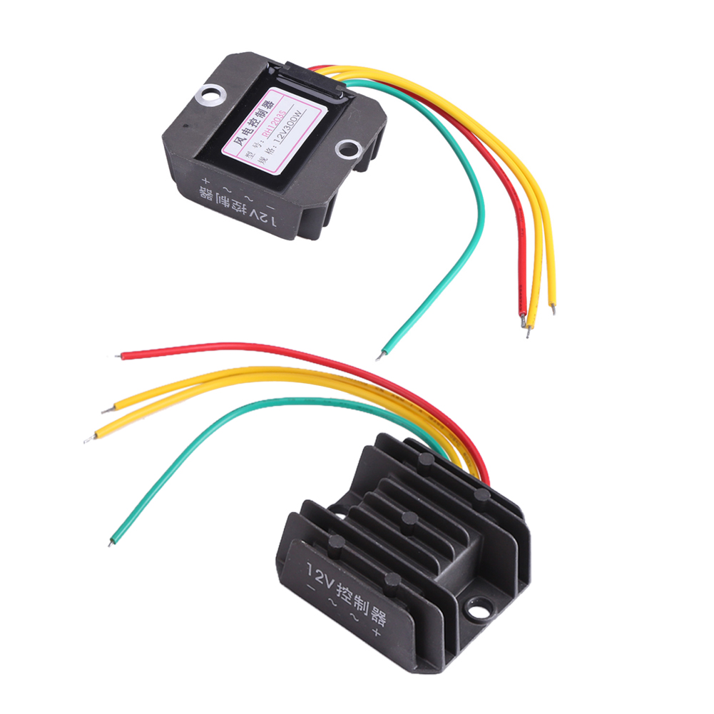 Dc 12v 300w Wind Turbine Generator Charge Controller Single Circuit Diagram Also Home Theater Wiring Further Three Phase New
