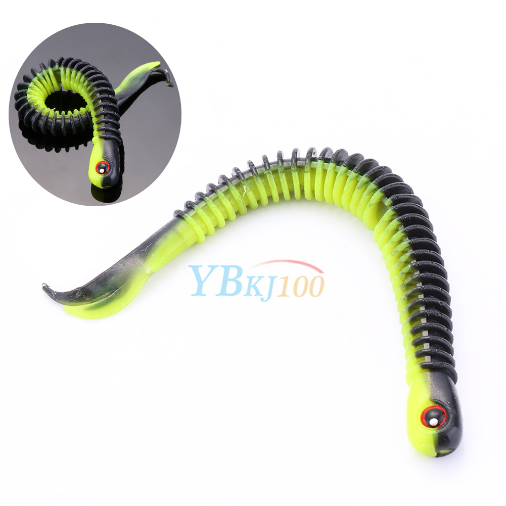 Soft plastic bait fishing lures small hook worm bass for Best hooks for bass fishing