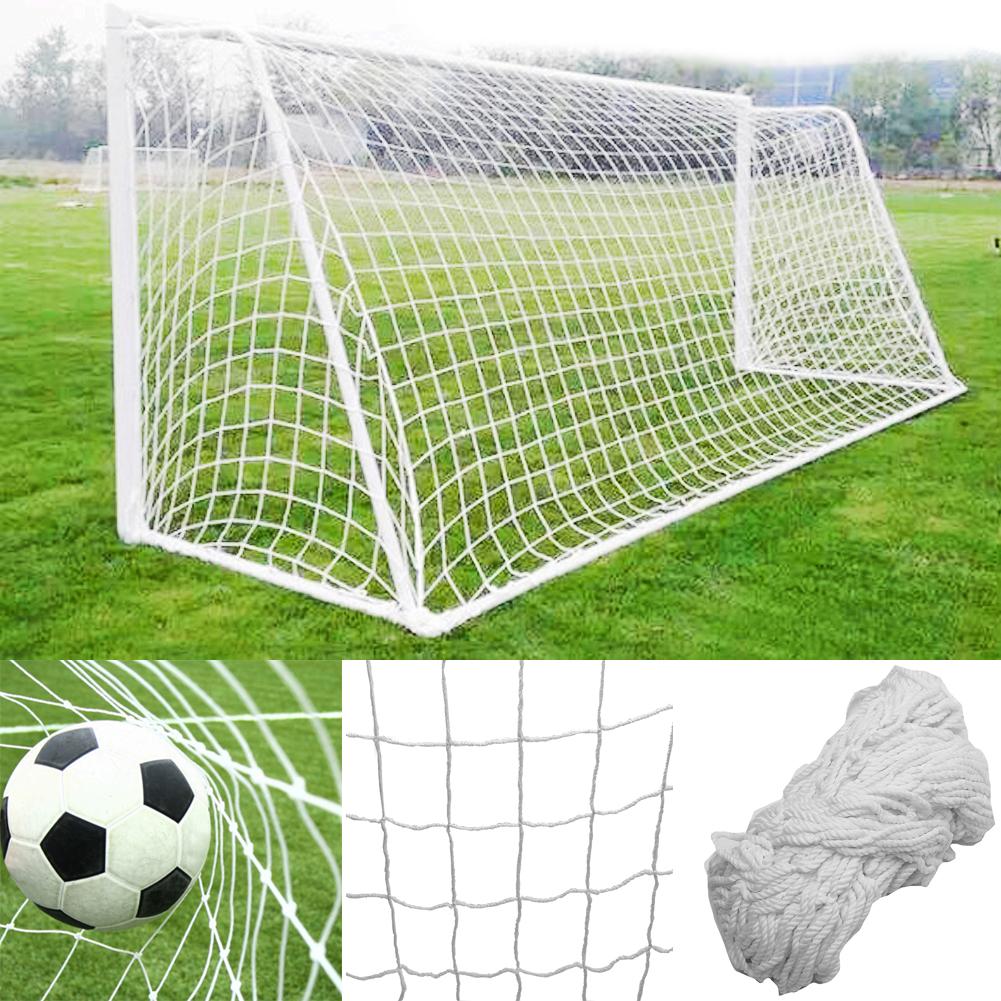 Portable 6x4ft 8x6ft 12x6ft 24x8ft Football Goal Soccer Net Sport