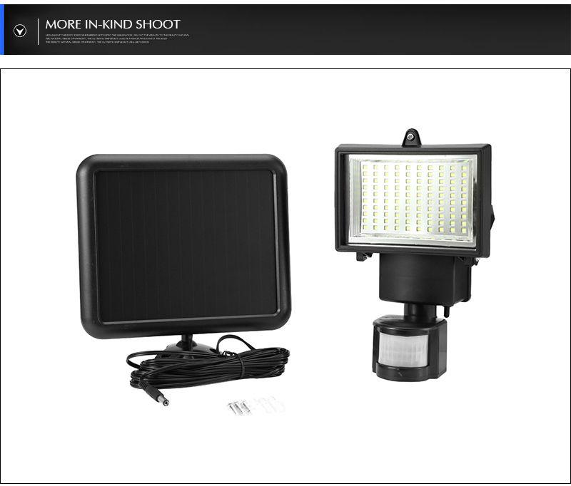 Barn Light With Pir Sensor: Hot 60 LED PIR Motion Sensor Security Floodlight Lamp