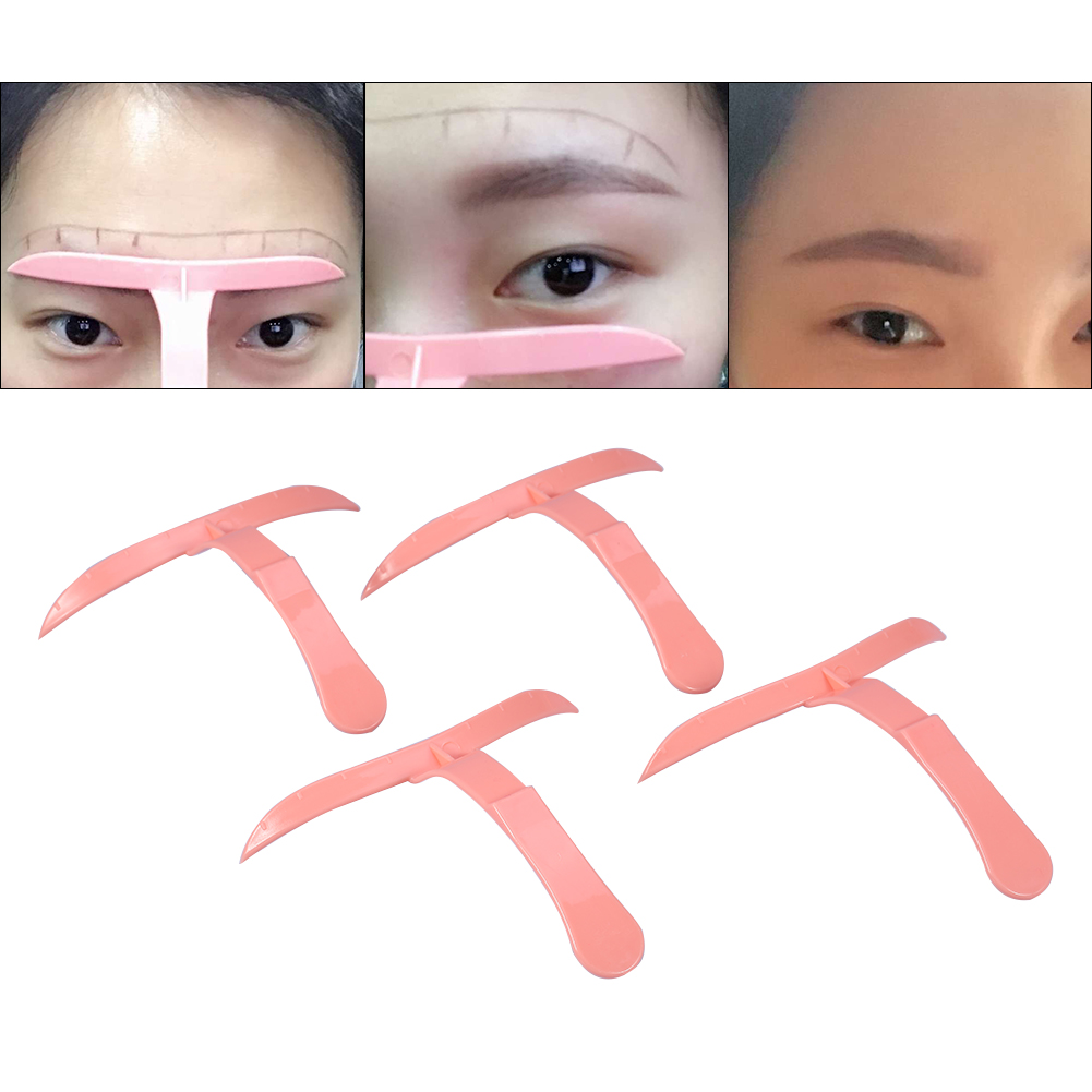 4 Microblading Eyebrow Shaper Template Stencil Ruler Definition ...