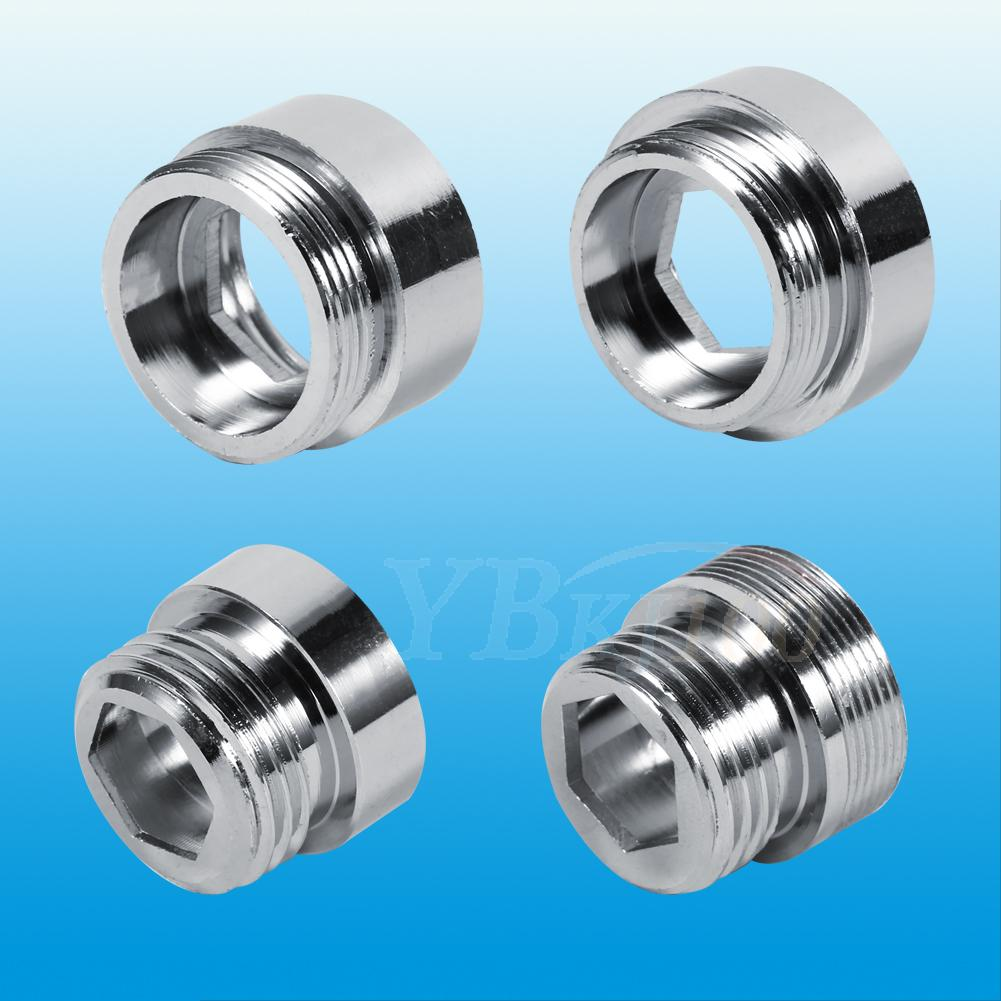 New Solid Metal Adaptor For Water Saving Kitchen Faucet Tap Aerator ...