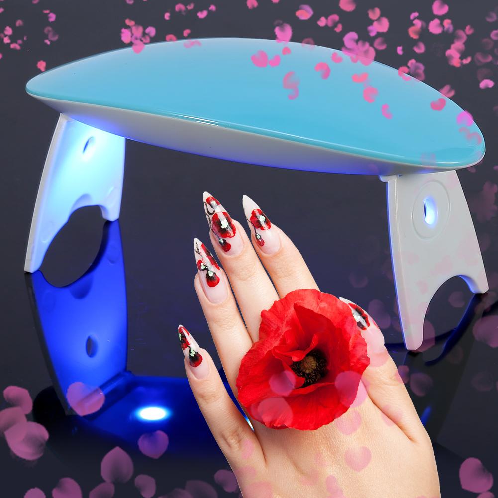SUN SUNmini 9W UV LED Lamp Nail Dryer Portable USB Cable Manicure ...