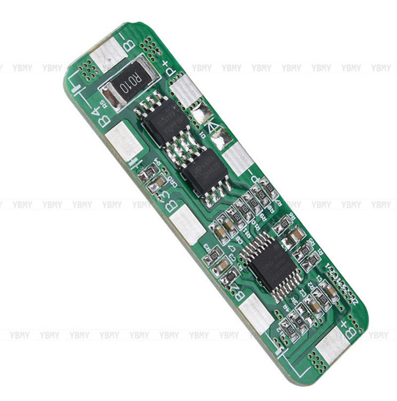 4A-5A PCB BMS Protection Board for 4 Packs 18650 Li-ion lithium Battery Cell 4S