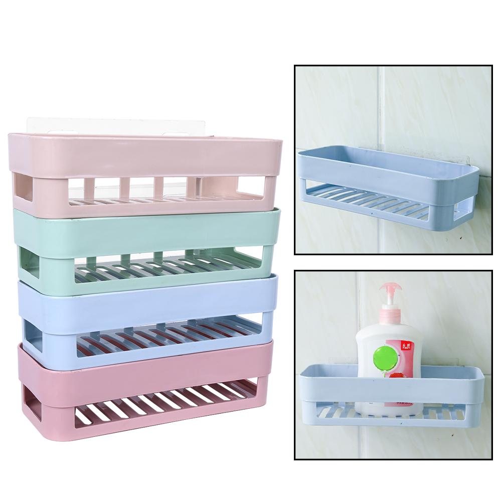 26cm Hanging Shower Bath Tidy Storage Rack Caddy Organizer W/ Stick ...